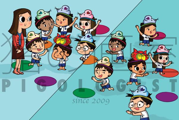 Preschool Children's Books illustrations #4 | Ministry of Education