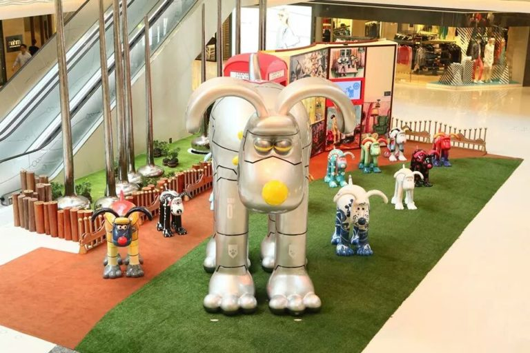 Wallace and Gromit sculpture | GROMIT UNLEASHED Hong Kong