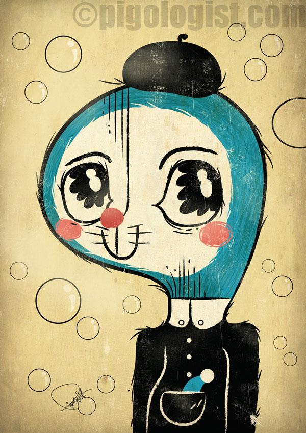 Portrait of Hiroshi Fujimoto | 100 Friends 100 Artists 100 Inspirations Exhibition