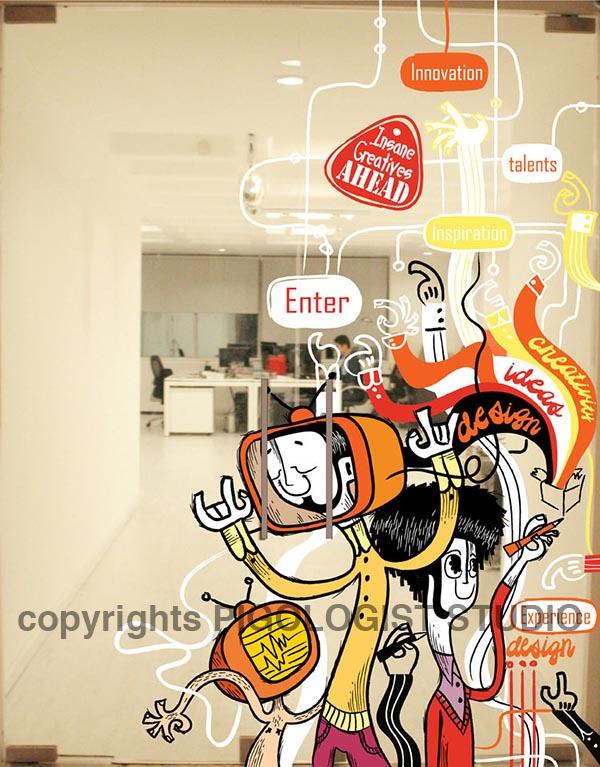 Illustrations on branding   Dreambox