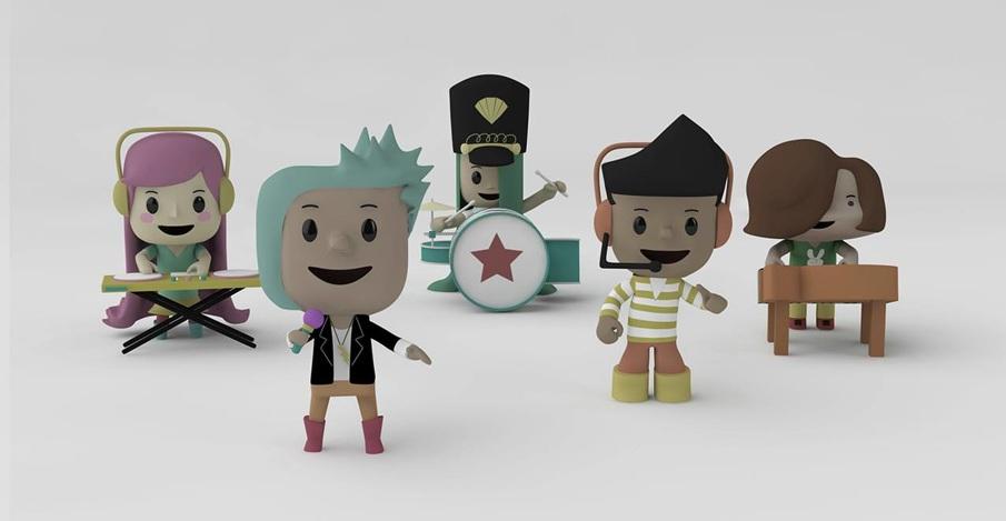 Character designs | Nickelodeon Kids Band (TMRRW X PIGOLOGIST)
